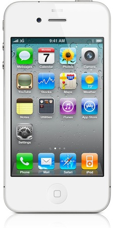 Смартфон APPLE iPhone 4 8GB White - Грозный
